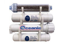 RODI XL 50 GPD Portable Aquarium Reef Reverse Osmosis Water Filter System 2.5x12
