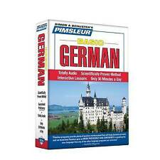 Pimsleur German Basic Course - Level 1 Lessons 1-10 CD: Learn to Speak and Understand German with Pimsleur Language Programs: Level 1: Lessons 1-10 by Pimsleur (CD-Audio, 2011)