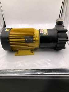 Serfilco 01-4408-03 4kW PP Magnetic Coupled Pump for Filtration System 3PH