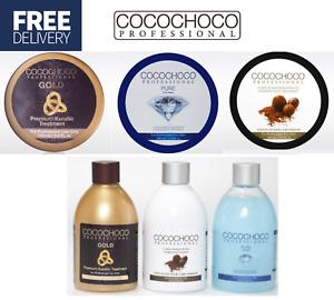 COCOCHOCO Brazilian Keratin Hair Straightening Treatment - Choose your Option