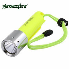 Bajo agua 5000Lm Buceo CREE XM-L T6 linterna flash LED Luz 18650 luz