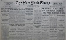 7-1931 JULY 21 HOOVER PLAN HELP GERMANY. FALL JAIL NEW MEXICO. PARIS PLEDGE