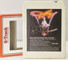 Dolly Parton 8 Track: GREAT BALLS OF FIRE RCA- AHS1-3361