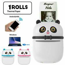 Mini Pocket Thermodrucker Bluetooth Handy Etikett Fotos Druckmaschine