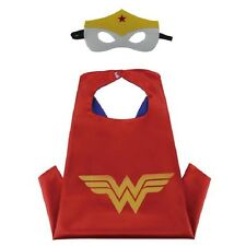 Kids Cape & Mask Costume Set  Wonder Woman For Birthday and Party Favors