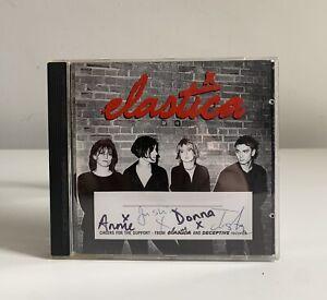 Elastica Hand Signed autographed Debut Album CD Deceptive Records 1995 Britpop