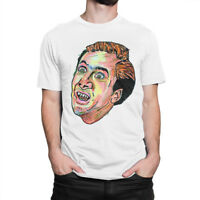 Nicolas Cage Funny Original Art T-Shirt, Men's Women's All Sizes