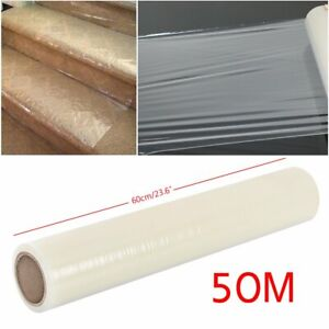 50M Self Adhesive Roll Carpet Floor Protector Protection Cover Film Dust Sheet
