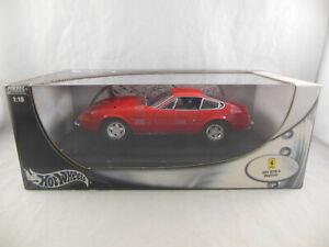 HotWheels 21353 Ferrari 365 GTB/4 Daytona in red 1:18 Scale