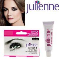 Julienne Professional 15ml Eyelash Eyebrow Dye Tint Midnight black Tint