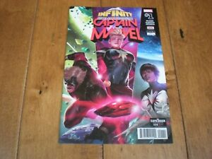 INFINITY Countdown Captain Marvel #1 (2018 Series) Marvel Comics VF/NM