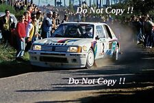 Ari Vatanen Peugeot 205 Turbo 16 Portugal Rally 1985 Photograph 1