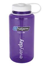 NALGENE Everyday 1L Weithals Trinkflasche lila Wasserflasche Trink Flasche neu