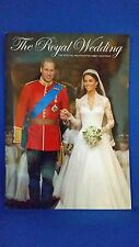Official Royal Wedding Booklet - William and Kate - Westminster Abbey - 40 page