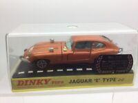 Vintage Dinky Toys 131 Jaguar E Type 2+2 Bronze Speedwheels
