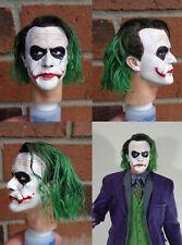 1/4 Scale figure custom The Joker head sculpt Hot Toys Enterbay compatible H5