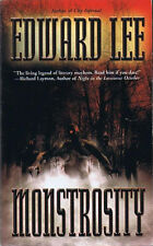 Edward Lee MONSTROSITY Signed First Printing