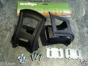 Wellgo Strapless Mini Toe-Clips