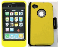 iPhone 4/4S Case Cover Screen Protector (Fits Otterbox Defender Belt Clip)