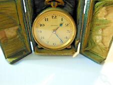 Beau réveil  De Voyage ZÉNITH FRANCE Pendulette, horloge,Collection 1950