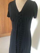 Pearl Lowe Black Short Sleeved Beaded Dress BNWT
