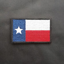 Usa Texas Tx State Flag U.S. Army 3D Morale Tactical Embroidered Hook Patch #11