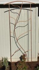 "Custom 100% copper handmade Trellis, 31"" (2.5') Wide x 105"" (8.75') High! NEW!!!"