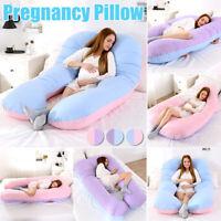 U Shape Pregnancy Pillow Bedding Full Body Comfortable Pregnant Sleeping Cushion