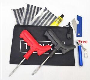 22 Pieces Emergency Puncture Repair Kit Car Van Motorcycle Tubeless Tyre + Gift