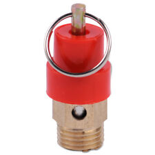 "1/4"" NPT 120PSI Pressure Safety Relief Blow Pop Off Valve For Air Compressor"