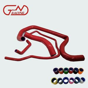 Fit Hummer H2 6.0L 2003 2004 2005 2006 Water Silicone Radiator Coolant Hose Kit