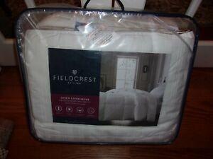 NIP Fieldcrest White Down Extra Warmth King Comforter