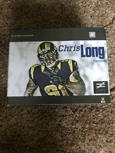 Chris Long #91 St. Louis Rams Player Figurine Stadium Giveaway 2013 New in Box