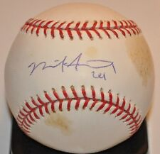 Nick Stavinoha 2008-2010 St. Louis Cardinals Signed Autographed ML Baseball COA