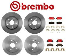 For Toyota Solara Brembo Front and Rear Full Brake Kit Disc Rotors Ceramic Pads
