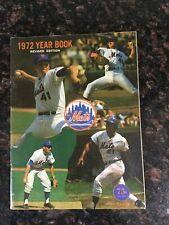 1972 NEW YORK METS REVISED EDITION YEARBOOK SEAVER MAYS
