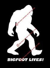 Bigfoot Lives! Waking Side Yeti Gone Squatchin' Sticker Decal Nw Wa Conspiracy