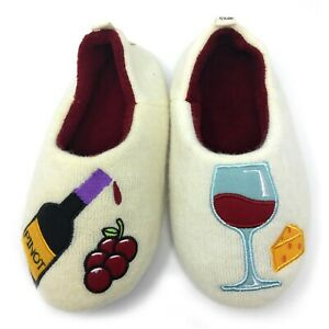 Women's Cozy Comfy Slippers Funny Fuzzy Fluffy Indoor Warm House Shoes Pinot