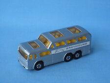 Lesney MATCHBOX SUPERFAST 66 Levriero Coach Bus senza confezione VNM