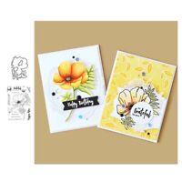 Stanzschablone Blume Schrift Hochzeit Weihnachten Oster Geburtstag Karte Album