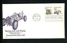 US FDC #2262 SOS Covers 1987 Indianapolis IN Auto Racing Car