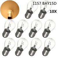 10X 1157 BAY15D 380 P21/5W LED Bulb Turn Signal Reversing Stop Tail Light DC 12V