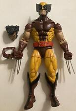 "Marvel Legends Retro X-Men Brown Suit Wolverine 6"" Action Figure Hasbro"