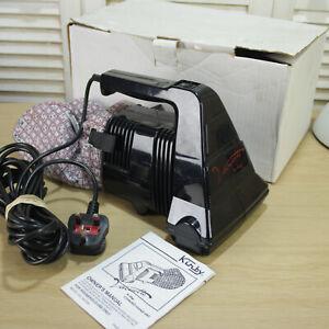 Kirby Vacuette Handheld Portable Vintage Vacuum Cleaner Removable Bag + manual