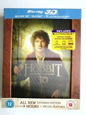 The Hobbit - An Unexpected Journey - Extended Edition Blu-ray VG F2/H1