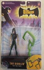 THE RIDDLER ACTION FIGURE w ENERGY BLADE Batman THE ANIMATED SERIES CARTOON NEW