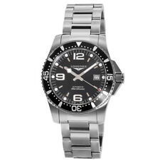 New Longines HydroConquest Automatic Black Dial Steel Men's Watch L3.742.4.56.6