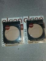 2 Pack Covergirl Simply Clean Powder Foundation  505 Ivory No Sponge, (Z)