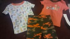 Pajama Zoo Toddler Boy Set 3 Pieces 24 M
