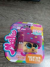 YoYo Lip Balm ~Moodies, Kids Color Changing Mood Lip Balm 0.9oz. Strawberry